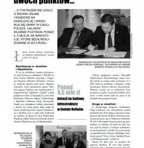 Informacje Gminy Halinów nr 1 strona 8