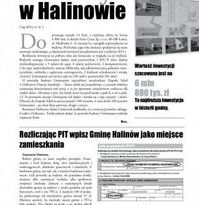 Informacje Gminy Halinów nr 8 strona 3