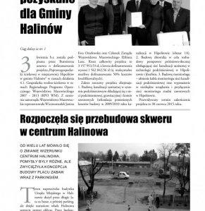 Informacje Gminy Halinów nr 12 strona 3