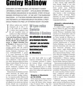 Informacje Gminy Halinów nr 15 strona 2