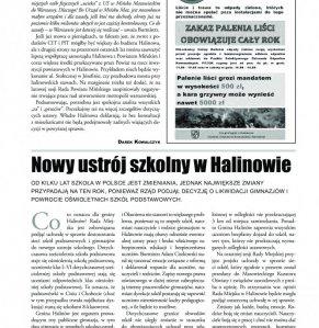 Informacje Gminy Halinów nr 17 strona 5