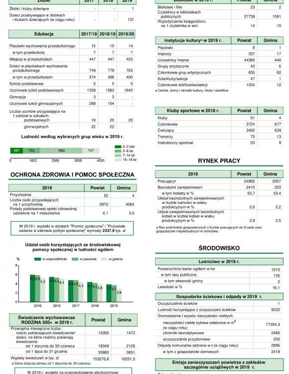 Statystyczne Vademecum Gminy Halinów - 2020 strona 3