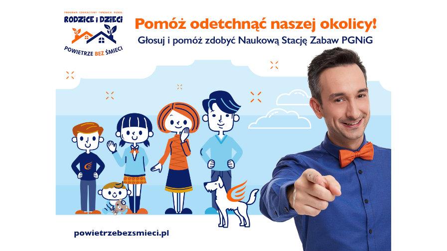 Głosuj i pomóż zdobyć Naukową Stację Zabaw PGNiG dla Gminy Halinów